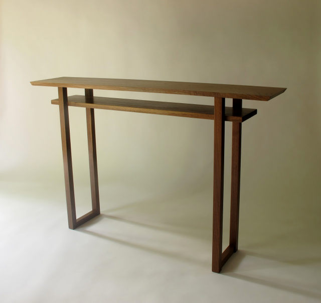 Delicieux Narrow Console, Bar Table, Mid Century Modern Zen, Artistic Solid Wood  Furniture
