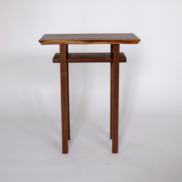 Merveilleux Small Narrow Table  Tall Narrow End Tables, Solid Wood Accent Table, Small  Accent