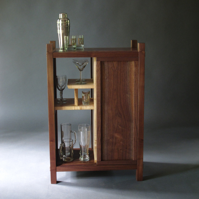 Modern Bar Cabinet  Liquor Cabinet, Dry Bar, Narrow Bar For The Home