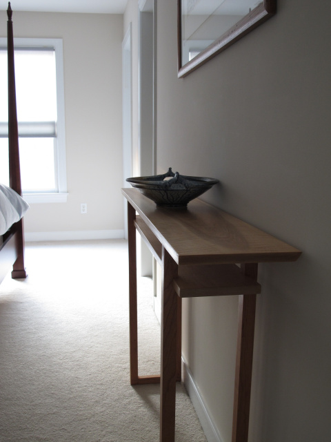 Vanity Table- narrow console table for your bedroom vanity table ...