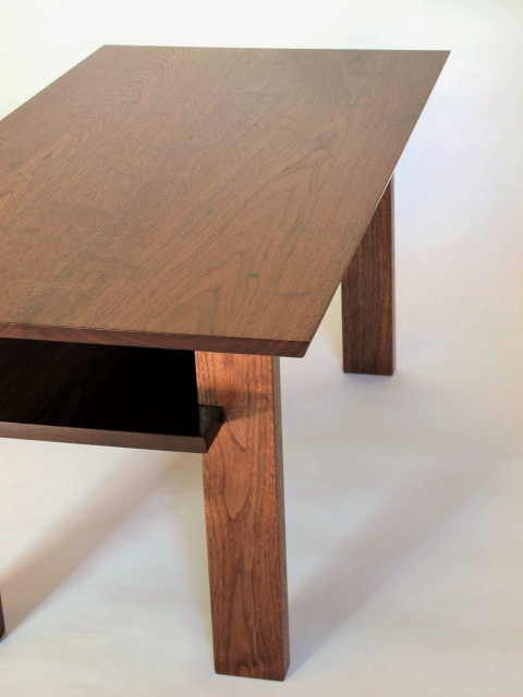 A Solid Wood Coffee Table Made For Small Spaces This Narrow