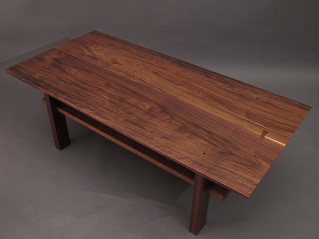 Walnut Coffee Table Artistic Wood For Modern Living