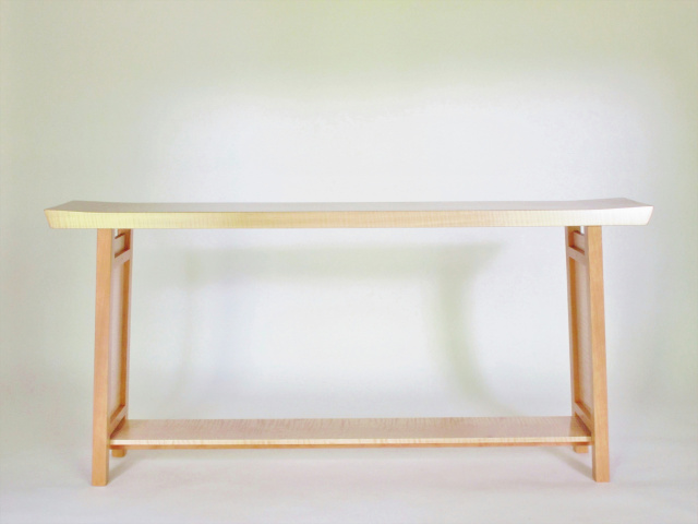 Long Low Narrow Console Table For Hall