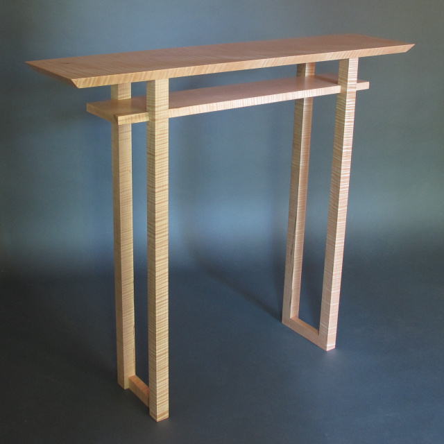 Stupendous Modern Narrow Console Tables Entry Tables And Hall Tables Ocoug Best Dining Table And Chair Ideas Images Ocougorg